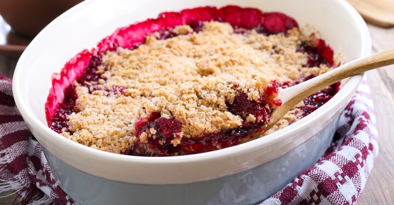 5 dessert ideas cherry dump cake