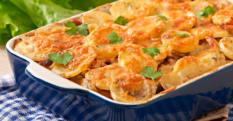 quick dinner ideas scalloped potato casserole