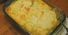 quick dinner ideas chicken pot pie casserole