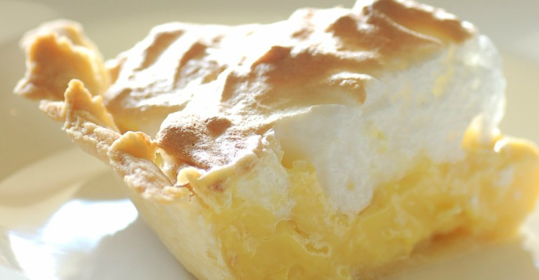 6 surprising dessert recipes lemon meringue pie
