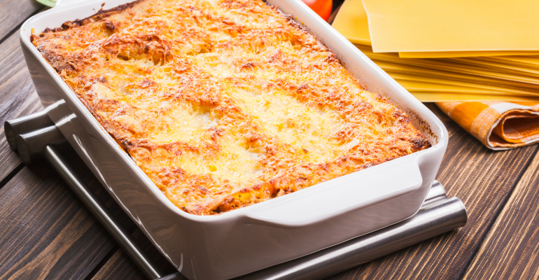 8 supper ideas pizza casserole
