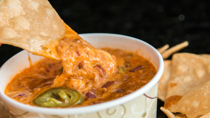 beef enchilada party dip