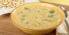 8 supper ideas cheddar broccoli soup